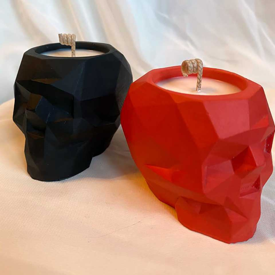 soy wax candle decor