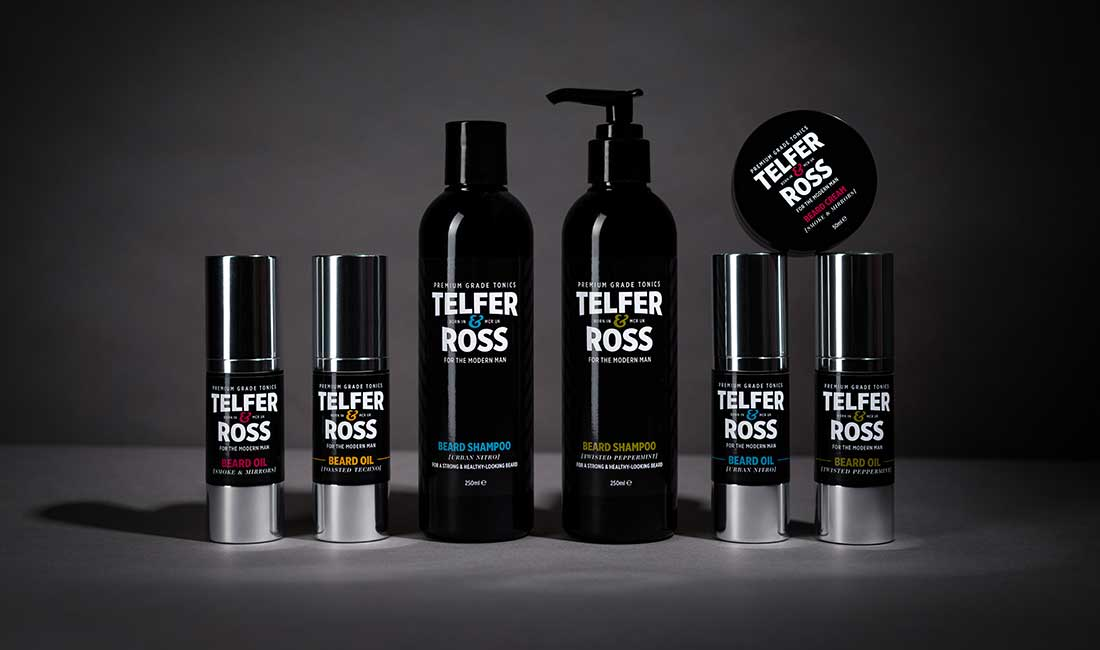 Telfer & Ross - Essential Male Grooming Products